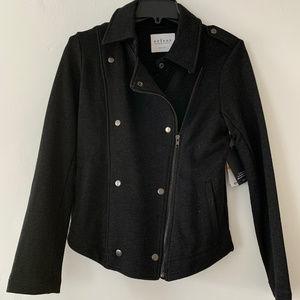 Black Moto Jacket blazer by Velvet